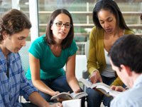 We hold a clinical team meeting with our doctors and licensed professionals